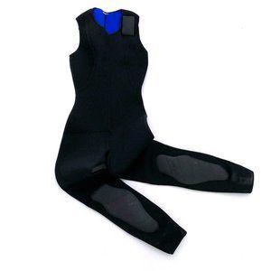 SEA QUEST Women's Black Tank Velcro Wetsuit